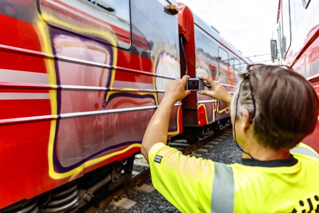 Graffitifjerning dokumentasjon