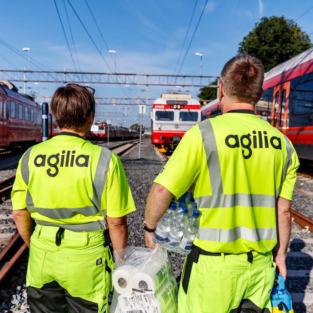 Agilia-ansatte