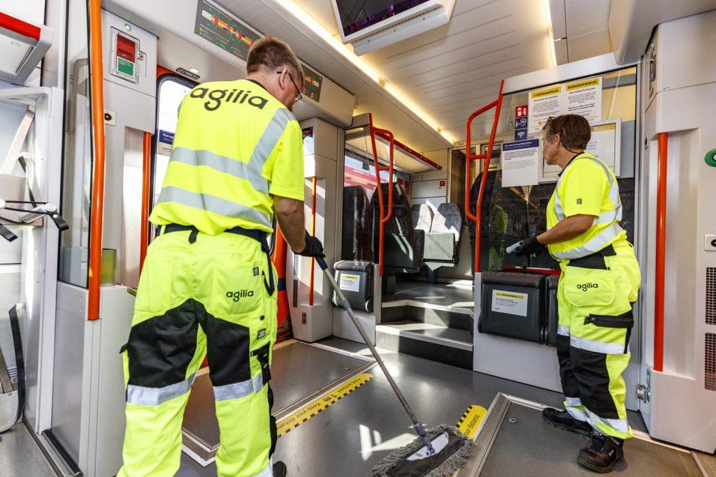 Agilia er eksperter på togrenhold